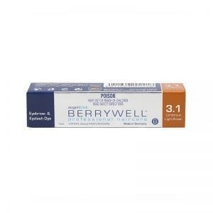 BERRYWELL | Eye Lash Tint Light Brown-3.1