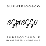 BURNT FIGG & CO | Pure Soy Espresso