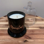 BURNT FIGG & CO   Black Cloche Custom Candle