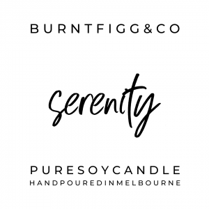 BURNT FIGG & CO | Pure Soy Serenity