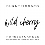 BURNT FIGG & CO | Pure Soy Wild Cherry