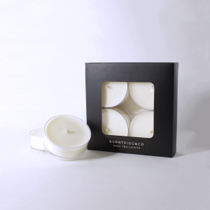 BURNT FIGG & CO | Maxi Tea Lights 4pk