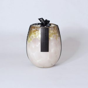 BURNT FIGG & CO | Pink & Gold Stemless Candle