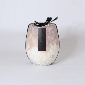 BURNT FIGG & CO | Pink & White Stemless Candle